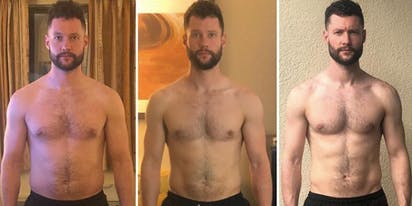 Calum Scott's latest body transformation has everyone feeling parched