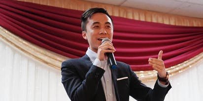 Meet the guy who hopes to become California's first openly bisexual state legislator