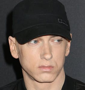 Eminem shares his Grindr photo, Grindr messages back