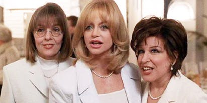 Attention 'First Wives Club' fans: Goldie Hawn, Bette Midler & Diane Keaton are back together!