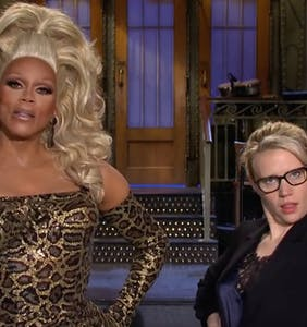 WATCH: Get a taste of RuPaul hosting Saturday Night Live