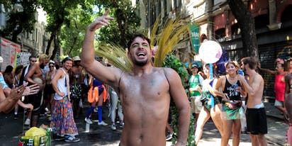 It's Carnaval time! Here are photos of gorgeous people Rio de Janeiro