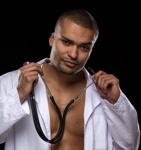 His super hot doctor just hit him up on Grindr… now what?!