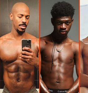 Connor Jessup's wet t-shirt, Wilson Cruz's new 'do, & Keiynan Lonsdale's Calvins