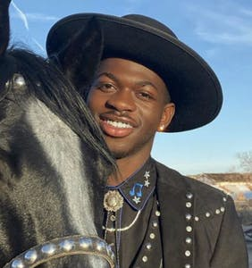 WATCH: Lil Nas X crashes a wedding to dance with the bride