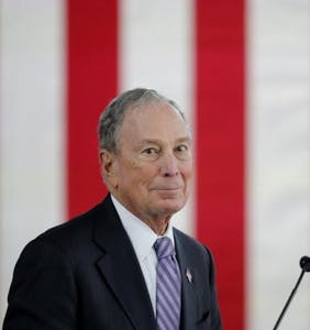 Michael Bloomberg was eviscerated on stage at last night's debate. And then came the memes…