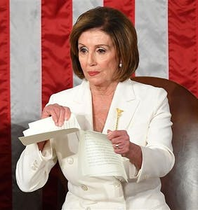 Nancy Pelosi ripped up Donald Trump's State of the Union address. And now, the memes…