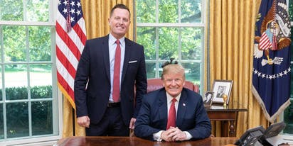 Top gay Trump appointee Richard Grenell resigns amid national chaos