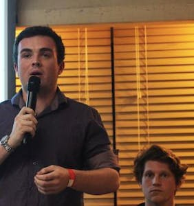 Dude running for university student president awkwardly caught lying about homophobic past