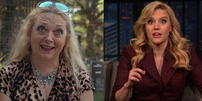 Kate McKinnon confirmed to play Carole Baskin in upcoming 'Joe Exotic' series