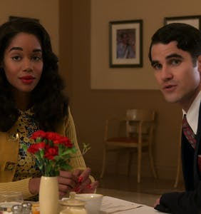 WATCH: Darren Criss, Laura Harrier & Samara Weaving on giving 'Hollywood' the Hollywood treatment
