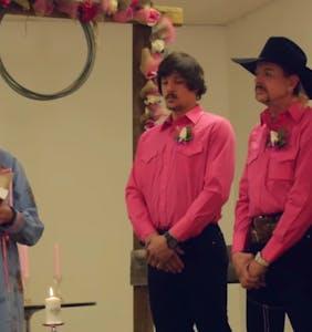 WATCH: Joe Exotic's entire throuple wedding video has found its way online
