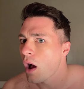 Colton Haynes just gave himself a DIY haircut on YouTube and the results are, um, interesting