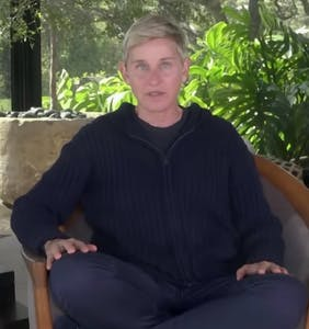 Ellen quietly scrubs the internet of her tone deaf quarantine joke