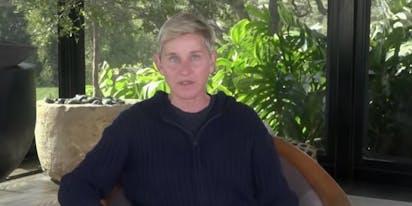 Ellen quietly scrubs the internet of her tone deaf quarantine joke