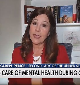 Twitter drags Karen Pence for her explanation why Mike Pence ditched his mask at the Mayo Clinic