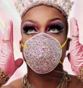 Todrick Hall releases star-studded video for 'Mask, Gloves, Soap, Scrubs'