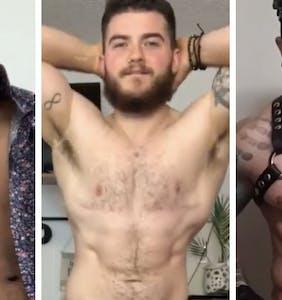 Trans men strip to their underwear in fun, viral video