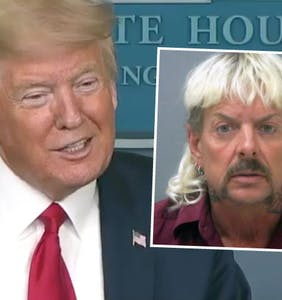 "Donald Trump says he'll ""take a look"" at Joe Exotic's pardon request"