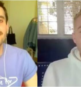 WATCH: Queerantine with 'Sissy' author Jacob Tobia and Jordan Star