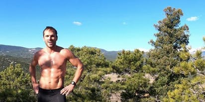 How sports helped this triathlete get sober and come out to his wife and family