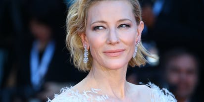 "WATCH: Cate Blanchett declares ""I am a lesbian!"""