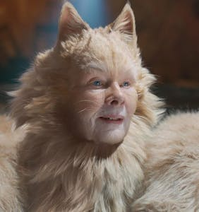 You won't believe what Judi Dench just compared her 'Cats' costume to