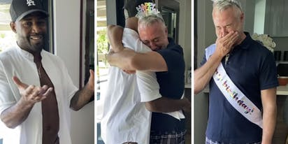 WATCH: Karamo Brown makes fiancé Ian Jordan burst into tears