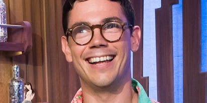 "Ryan O'Connell on gay sex: ""For three months, I thought you could only have sex on your stomach"""