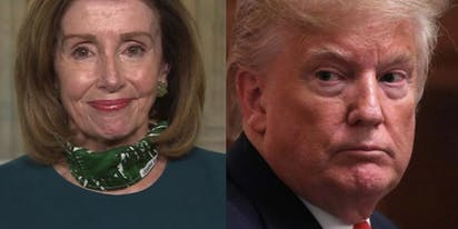 "Nancy Pelosi called Trump ""morbidly obese"" on live TV and Twitter is having a field day"