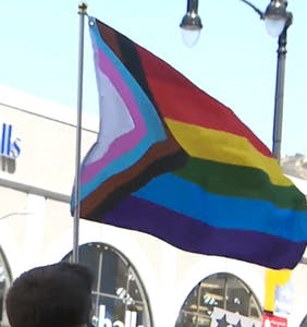 Tens of thousands gathered in Hollywood to protest racial & transgender injustice