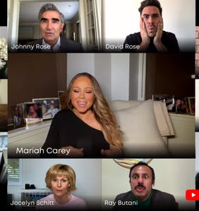 WATCH: Mariah Carey dueting with the cast of 'Schitt's Creek' is everything we need today