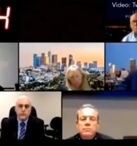 "WATCH: LAPD chief told to ""suck my d*ck and choke on it"" during live Zoom call"