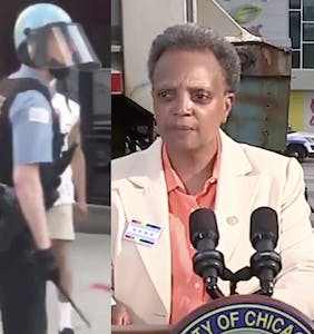 "Lori Lightfoot vows to identify nameless cop caught on tape calling protestor a ""f*cking f*ggot"""