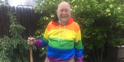Meet Kenneth Felts, the 90-year-old who just came out as gay