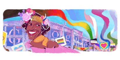 Marsha P. Johnson's life celebrated with Google Doodle and $500k donation