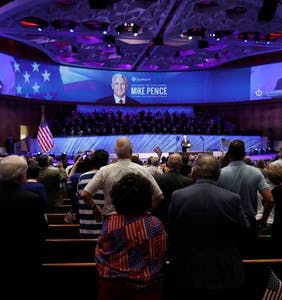 Antigay megachurch that hosted Mike Pence last month gets millions in federal coronavirus aid