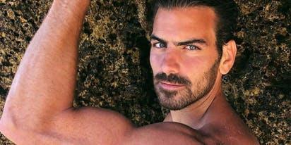 PHOTOS: Nyle DiMarco takes a steamy trip down memory lane