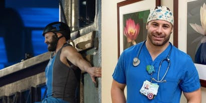 Meet the openly gay 'Titan Games' competitor working on the frontline of coronavirus