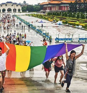 PHOTOS: Check out the colorful scene at one of the world's only marches during pride month