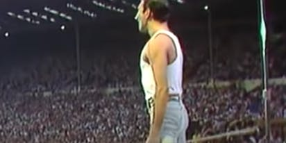 WATCH: 35 years ago today, Queen delivered this now-iconic 'Live Aid' performance