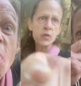 """WATCH: Karen asks Black delivery driver """"Is this a holdup?"""" in insanely cringey encounter"""