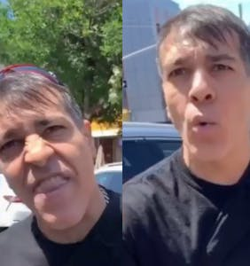 "Bicyclist goes on insane rant, calls Asian man ""yellow,"" ""slant-eyed,"" and a ""f*ggot"" in vile video"
