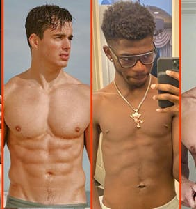 Luke Evans' ship, David Guetta's board, & Pietro Boselli's recycled swimwear