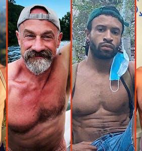 Chris Meloni's beard, John Legend's shower, & Terry Miller's new jock