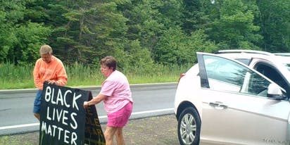 Mary Kay drops saleswoman after she's caught tearing down Black Lives Matter sign