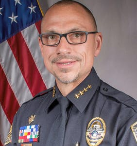 This police chief linked colleague's covid death to being gay; now he's looking for a new job