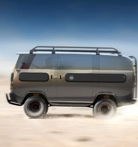 """Bottoms and tops alike are losing it over this new electric camper van called the """"eBussy"""""""