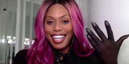 WATCH: Laverne Cox talks trans representation & quarantine dances