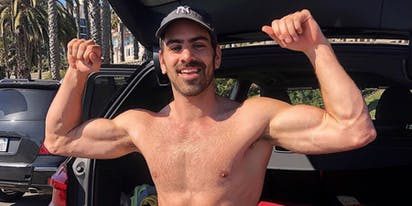 Nyle DiMarco has a surprise for you